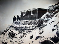 Quintino Sella Hut in 1855