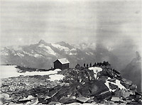 Quintino Sella Hut in 1907