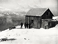 Quintino Sella Hut in 1910