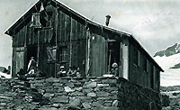 Quintino Sella Hut in 1929