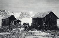 Quintino Sella Hut in 1945